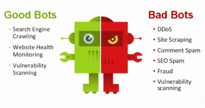 Good bots vs bad bots