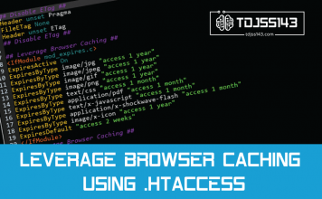 Leverage browser caching using .htaccess