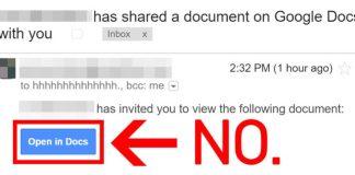 Massive Google Phishing Hack!