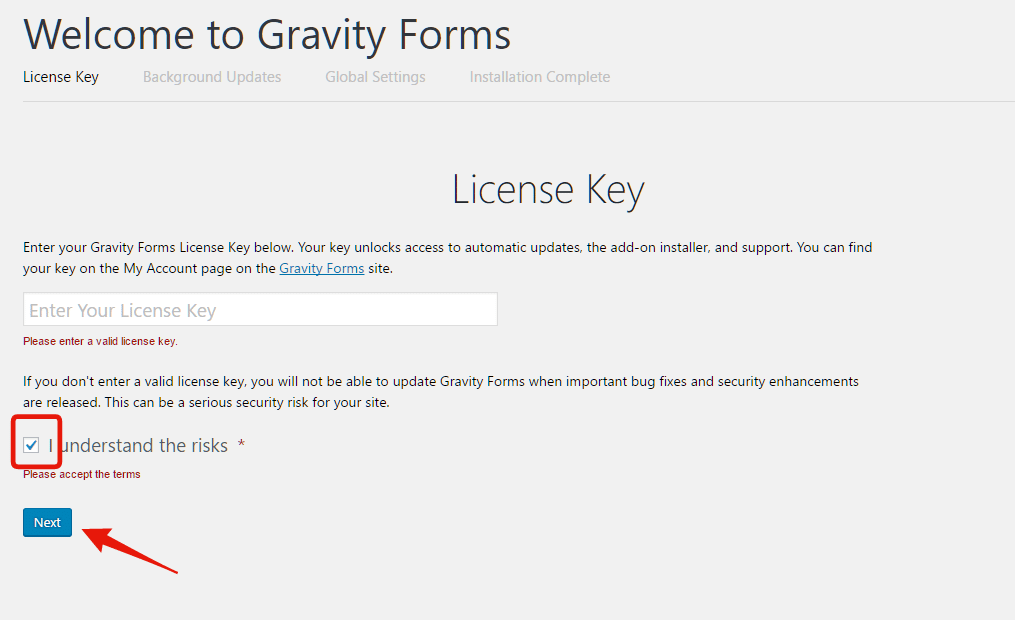 How to bypass Gravity Forms license.