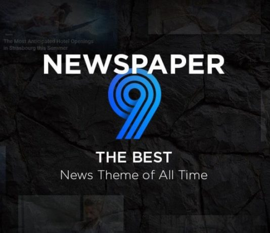 Newspaper 9 theme activation method